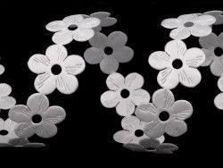 taśma ozdobna kwiatki 22