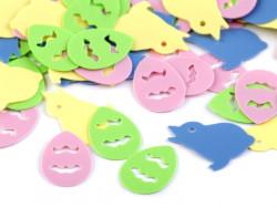 cekiny konfetti wielkanocne