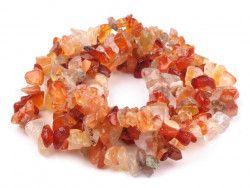 sieczka minerałów - karneol