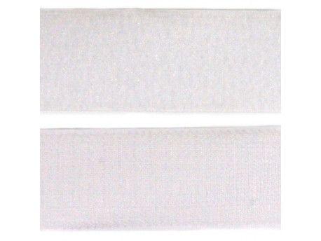 TAŚMA RZEP szer 100mm kolor biały