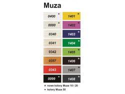 Kordonek MUZA 20 (30x4) 6szt. biały ARIADNA