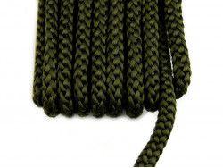 sznurek bistorowy 12 khaki