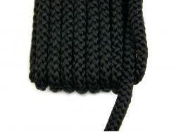 sznurek bistorowy 12 czarny