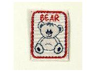 """naszywka """"bear"""""""