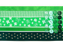 wstążki zestaw zielony