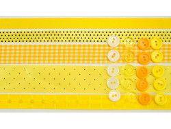 wstążki zestaw żółty