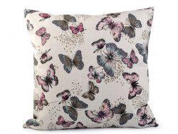 poszewka na poduszkę motylki