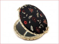 lusterko kieszonkowe z haftem