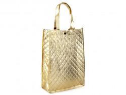torba metaliczna złota