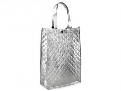 torba metaliczna srebrna