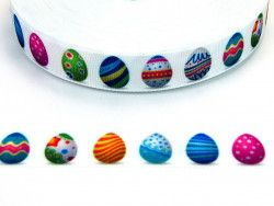 wstążka rypsowa jajeczka