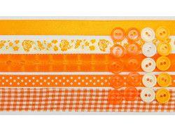 wstążki zestaw pomarańczowy