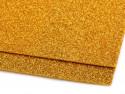 pianka gumowa z brokatem złota -2 sztuki