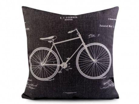 poszewka na poduszkę rower