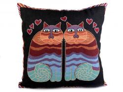 poszewka na poduszkę zakochane koty