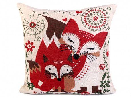 poszewka na poduszkę lisy