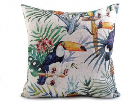 poszewka na poduszkę tukan