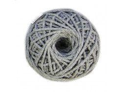 sznurek bawełniany 3mm -szary