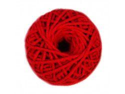 sznurek bawełniany 3mm -czerwony