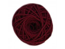 sznurek bawełniany 3mm bordowy