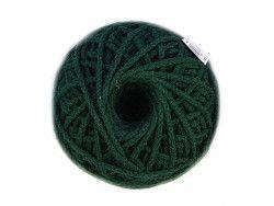 sznurek bawełniany 3mm zielony ciemny motek