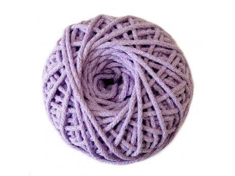 sznurek bawełniany 3mm -lawendowy