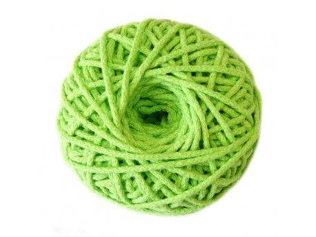 sznurek bawełniany 3mm -seledynowy