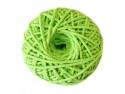 sznurek bawełniany 3mm seledynowy motek