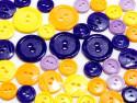 guziki mix 3 wielkości 40szt. mix irysowy