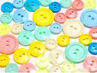 guziki mix 3 wielkości 40szt. mix cukierkowy