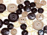 guziki mix 3 wielkości 40szt mix czekoladowy