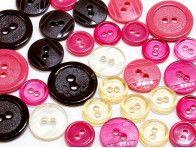 guziki mix 3 wielkości 40szt czekolada z malinami
