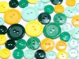 guziki mix 3 wielkości 40szt. mix wiosenny