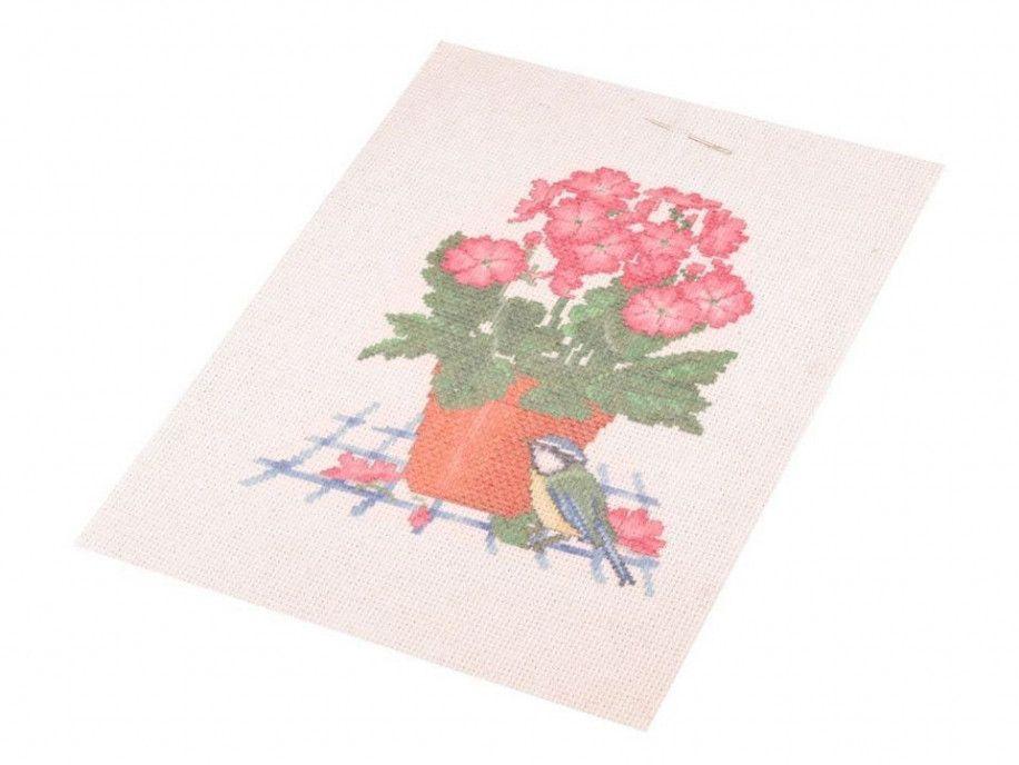 zestaw do haftu kwiatek