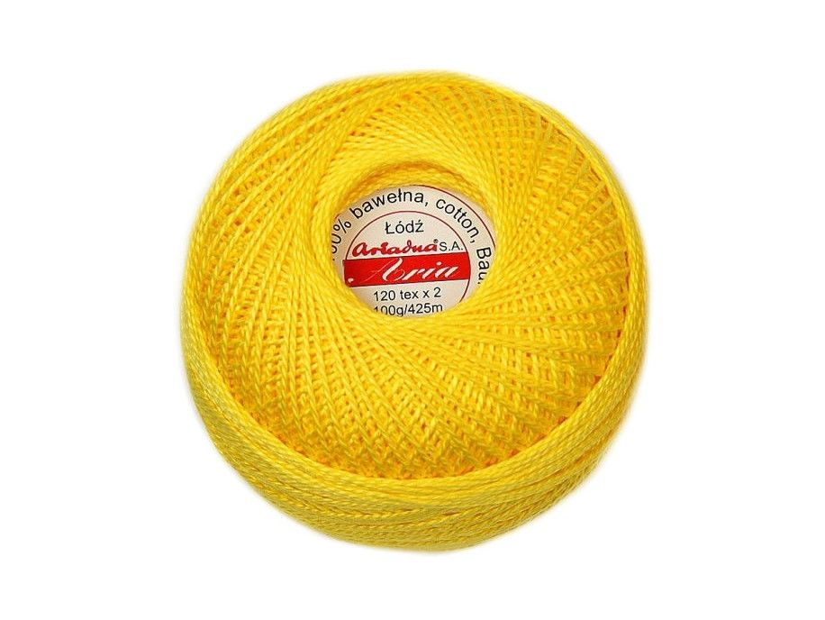Kordonek ARIA 5 120x2 kol. 360 żółty