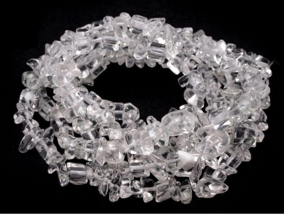 sieczka minerałów kryształ