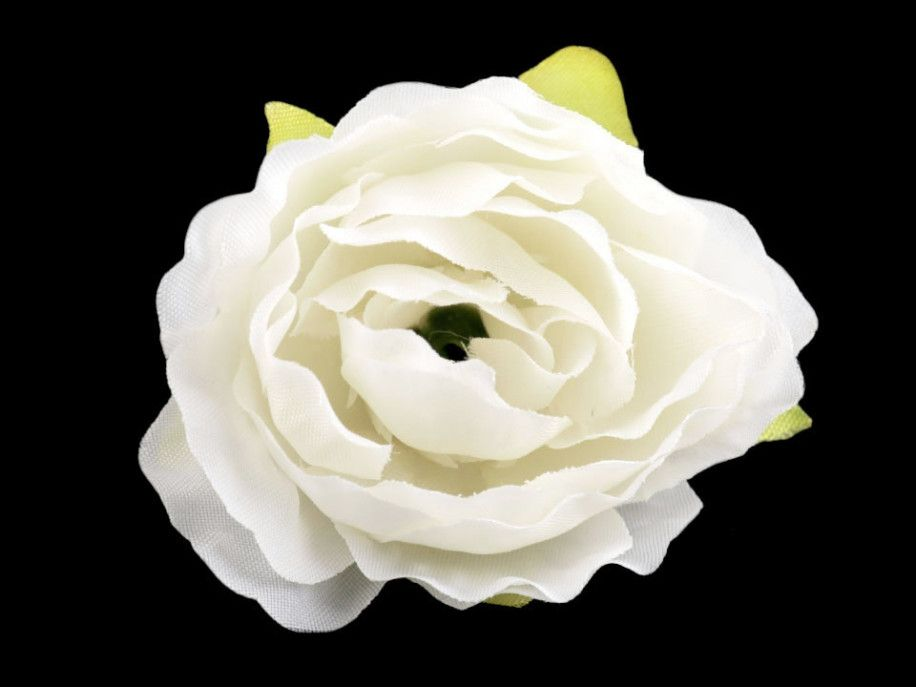 kwiat sztuczna róża ecru