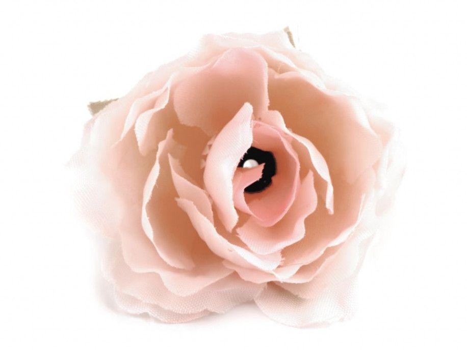 kwiat sztuczna róża herbaciana