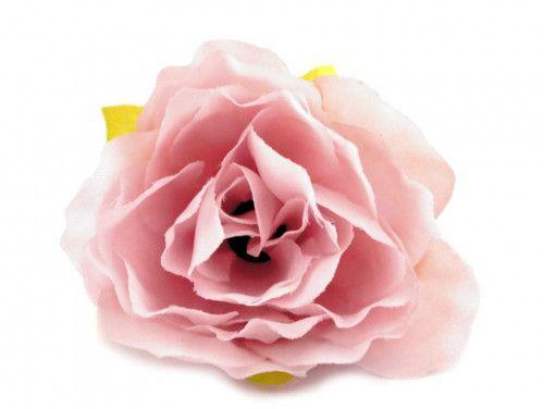 kwiat sztuczna róża różowa