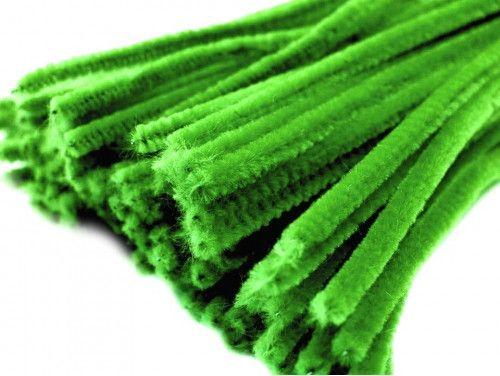 drut pluszowy zielony op.10