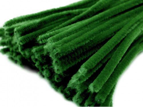 drut pluszowy zielony ciemny op.10