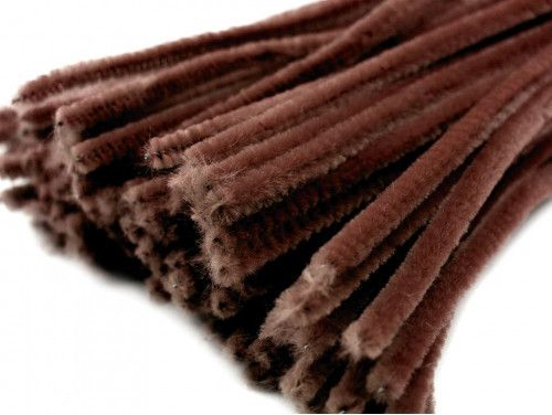 drut pluszowy brązowy op.10