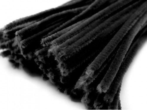 drut pluszowy czarny op.10