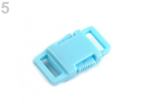 klamra plastikowa 9 błękitna
