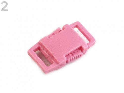 klamra plastikowa 9 różowa