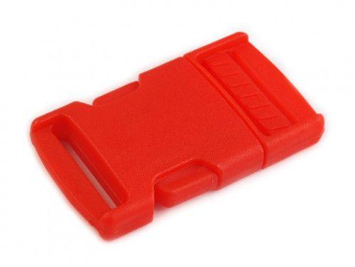 klamra plastikowa 25 czerwona