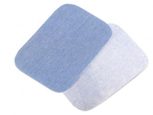 Łatki termoprzylepne JEANS jasno niebieskie 7,5x10,5cm