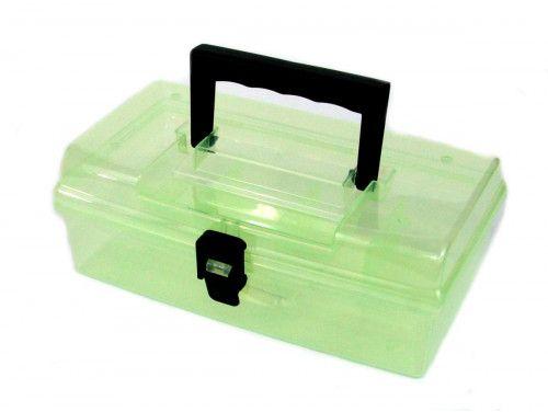 """organizer - pudełko na akcesoria 10"""" zielone"""