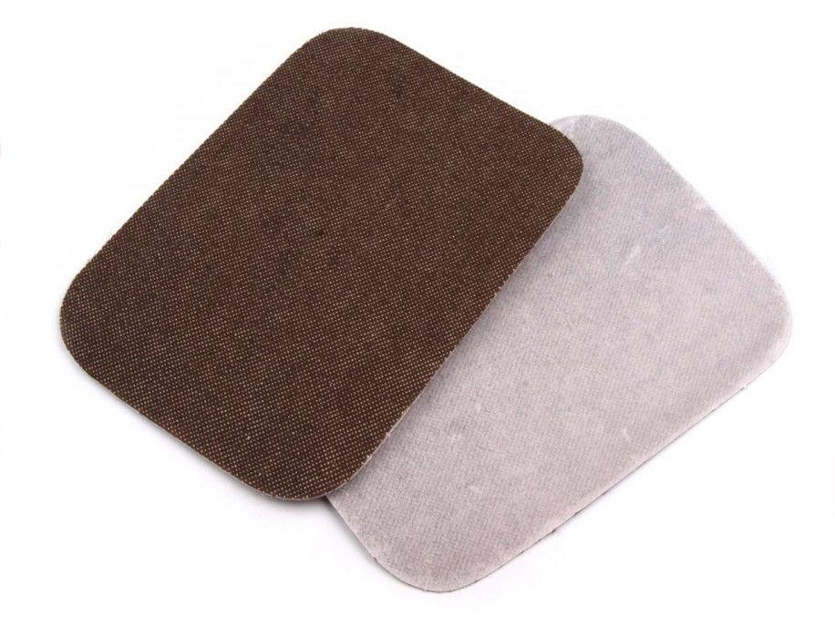 łatki termoprzylepne JEANS brązowe 7,5x10,5cm