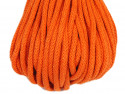 sznurek bawełniany 5mm pomarańczowy